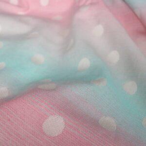 Ringsling aus Yaro Dots Pastel Rainbow