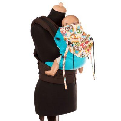 Babyroo Huckepack Halfbuckle Babysize Testtrage