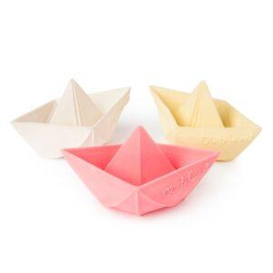 Oli & Carol – Origami Boot rosa