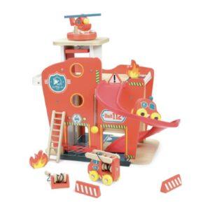 Vilac Feuerwehrstation aus Holz