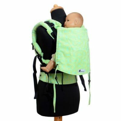 Babyroo Huckepack Fullbuckle Toddlersize Testtrage