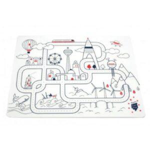 Super Petit Silikon Zeichnungsmatte Stadt