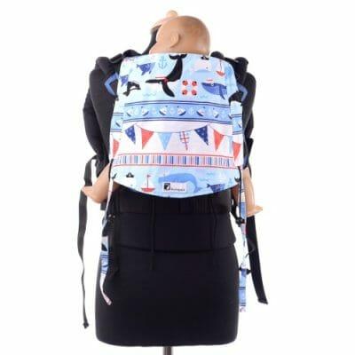Huckepack Full Buckle blau Orkas/Wale Mediumsize