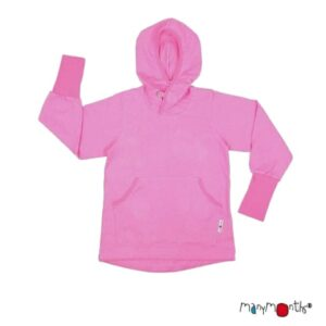 ManyMonths ECO Hooded Kangaroo Top pink