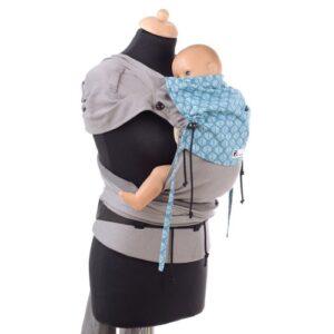 Babyroo Huckepack Wrap Tai Babysize Testtrage