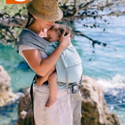 LIMAS Babytrage – Türkis Modell 2018