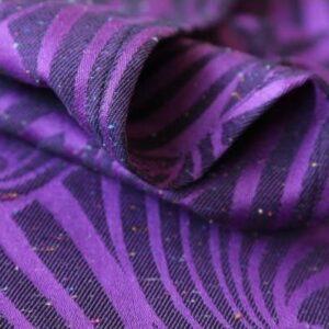 Yaro Dandy Purple Black Tencel Confetti