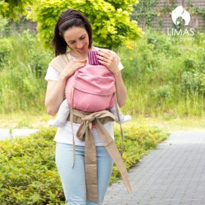 LIMAS Babytrage – Rosa Modell 2018