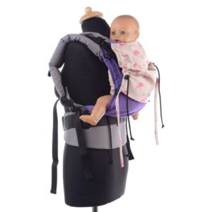Huckepack Full Buckle Flamingo Babysize