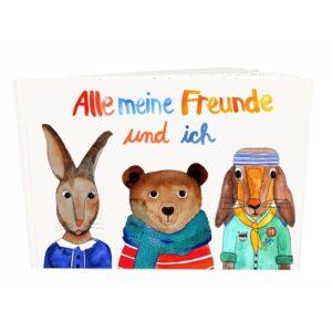 Frau Ottilie – Freundebuch *Alle meine Freunde und ich*