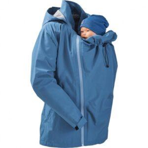 Mamalila Regenjacke für zwei vintage blue