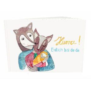 Frau Ottilie – Babybuch *Hurra, endlich bist du da*