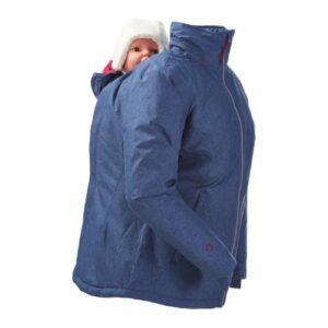 Mamalila Winterjacke für zwei ice-blue
