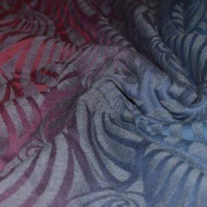 Ringsling aus Yaro Dandy Coral Reef Grad Grey Wool