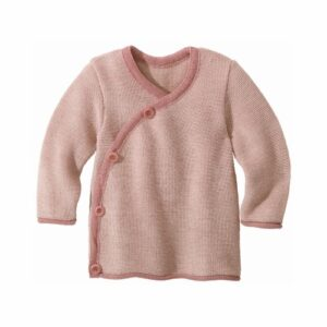 Disana Melange-Jacke rose-natur