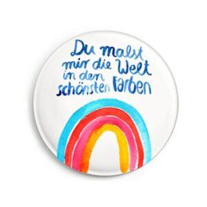Frau Ottilie – Magnet – Regenbogen