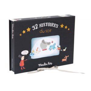 Moulin Roty Kinobox mit 32 Geschichten