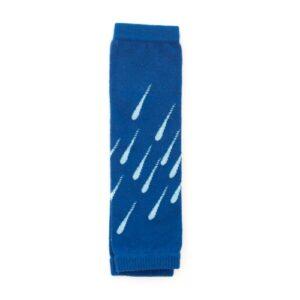 LoktuShe Babystulpen Raindrops blau