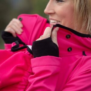 Made by Zuz Softshell Parka pink