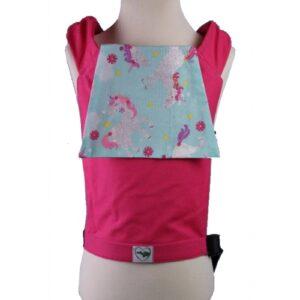 Plaudertaschen Buzzidil Glitter Unicorns pink