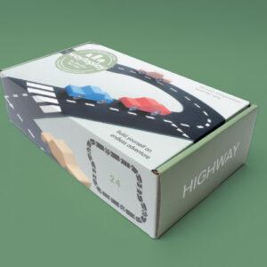 Waytoplay – Autobahn Set 24-teilig