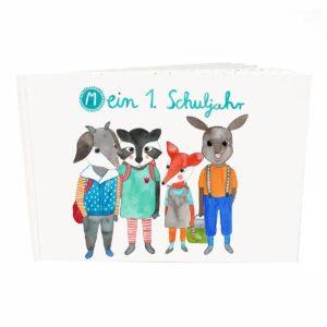 Frau Ottilie – Erinnerungsbuch – Mein erstes Schuljahr
