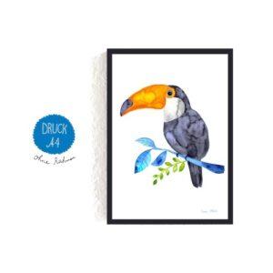 Frau Ottilie – Print DIN A4 Tukan
