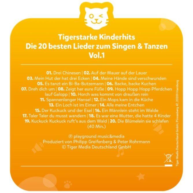 tigercard - Die 20 besten Lieder zum Singen & Tanzen | Gut
